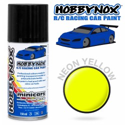 HOBBYNOX Neon Gul R/C Racing Car Spray Färg 150 ml