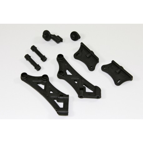 Body & Wing Mount 1:8 Buggy