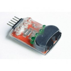 LOW VOLTAGE BUZZER / 2-4 LIPO