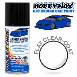 HOBBYNOX Matt Klarlack R/C Racing Car Spray Färg 150 ml